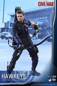 Captain America Civil War: Hawkeye - Sixth scale Figure
