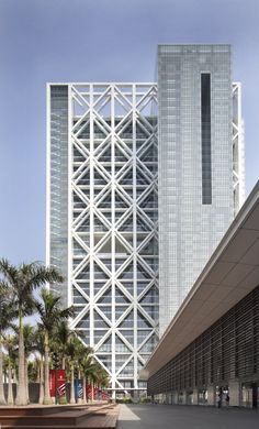 Poly International Plaza by Skidmore, Owings & Merrill LLP, Beijing, China.