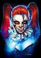 Harley Quinn IT by PaulBladen