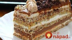 Torte recepti - Ledena kraljica Recepti Gurmanija com Jednostavne Torte, Brze Torte, Torte Recepti, Kolaci I Torte, Baking Recipes, Cookie Recipes, Dessert Recipes, Sweet Desserts, Sweet Recipes