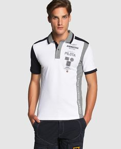 Polo de hombre de manga corta Polo Rugby Shirt, Mens Polo T Shirts, Boys T Shirts, Camisa Polo, Polo Fashion, Ralph Lauren Style, Garra, Lounge Wear, Shirt Designs