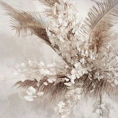 Dried Flower Arrangements, Dried Flowers, Flower Decorations, Wedding Decorations, L Eucalyptus, Flower Installation, Flower Cart, Graphic Wallpaper, Palmiers