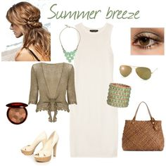 Summer breeze, created by laura-di-rosa on Polyvore