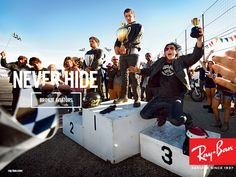 Advertising - Never Hide Campaigns | Ray-Ban® Official Site - USA