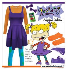 Cool Halloween Costumes, Halloween Ideas, Halloween Party, Icarly Videos, Rugrats Costume, Angelica Pickles, Tommy Pickles, Diy Wedding, Wedding Ideas