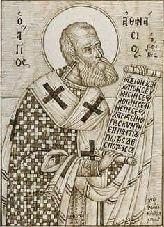 Saint Christopher, Byzantine Icons, The Kingdom Of God, Orthodox Icons, Line Drawing, Jesus Christ, Catholic, Saints, Drawings