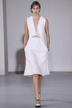 Spring/Summer 2014 Fashion Week wedding dresses Jil Sander, designer, fashion, catwalk, minimal, minimalist, design