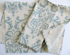 Damask Tea Towels cotton Kitchen dish towels by DeliciousPillows, $25.50