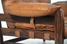 Brazilian Rosewood Lounge Chairs by Jean Gillon image 4