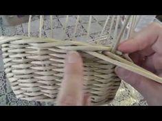 Загибка РОЗГА. Плетение из газетных трубочек - YouTube