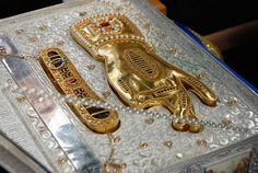 The Holy Relics of St. Nicholas the Wonderworker, treasured by the Holy Monastery of St. Nicholas, Andros, Greece