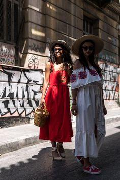 K Ara, Vans Girls, Off The Shoulder, Bohemian, Science, Artist, Red, Clothes, Dresses