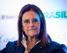 Maria das Gracas Silva Foster ,  the CEO of Brazilian oil company Petrobas. Her company reported more than $130 billion in revenue in 2012.