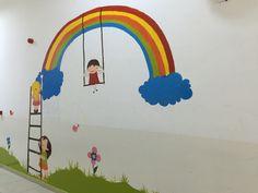 Gökkuşağı Duvar boyama Resim