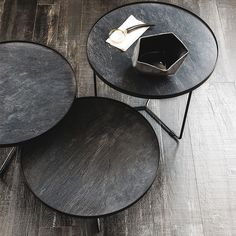 Steel and wood coffee table IVY Home Collection by Paola Lenti ...