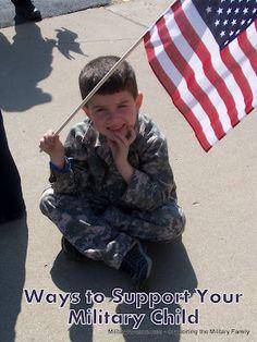 Ways to Support Military Children