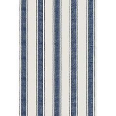 Check out Navy Awning Stripe Indoor/Outdoor Rug from Shades of Light
