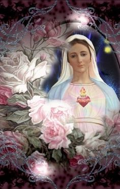 Mary Jesus Mother, Jesus Mary And Joseph, Blessed Mother Mary, Blessed Virgin Mary, Mother Pictures, Jesus Pictures, Jesus Shepherd, Lotus Flower Pictures, Hail Holy Queen