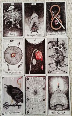 The wild unknown deck.   . Tarot card art - i should make my own set of Tarot cards one day...: