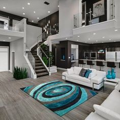 Living Room Door Ideas Bedrooms 59 Ideas For 2019 Dream Home Design, Modern House Design, Modern Interior Design, Living Room Designs, Living Spaces, Living Room Turquoise, Luxury Living, Luxury Homes, Interior Decorating
