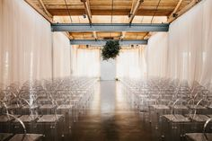 The LANE Real Weddings / Ethereal City Ceremony