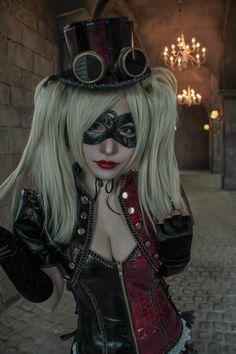 Harley Quinn(steampunk) www.steampunktendencies.com