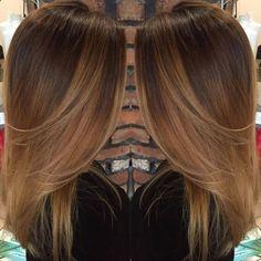 Hair Color - Le Balayage Caramel : Des Modèles Magnifiques à Piquer Immédiatement   Coiffure simple et facile