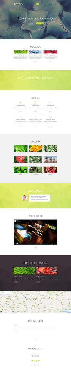 Botanic Responsive Moto CMS 3 Template - https://www.templatemonster.com/moto-cms-3-templates/garden-design-responsive-moto-cms-3-template-59509.html