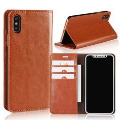 d3d8ed286d1 iPhone X Cover Wallet,Girls Luxury Fashion Detachable PU Leather Vintage  Wallet Style Book Cover