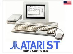 Atari ST Home Computer