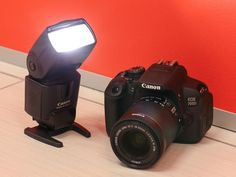 Learn how to get started with Canon's easy wireless flash system, which lets you trigger an external flash unit using your dSLR.