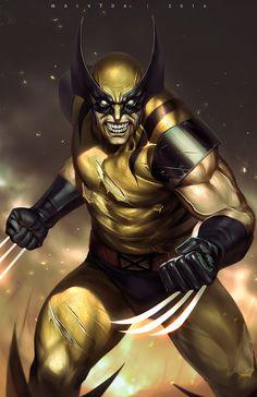 Wolverine by alex-malveda on DeviantArt