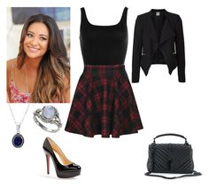 """""""Kali"""" by charmedgreys ❤ liked on Polyvore featuring D'Argent, NIC+ZOE, Boohoo, Christian Louboutin, Vero Moda and Yves Saint Laurent"""