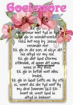 Ek glo in God Inspirational Qoutes, Inspiring Quotes About Life, Keep Strong, Pray Quotes, Life Quotes, Evening Greetings, Afrikaanse Quotes, Goeie More, Special Quotes