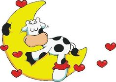 Cute Cartoon Images, Cartoon Pics, Cute Images, Cow Clipart, Cute Cows, Funny Cows, Animated Cartoon Characters, Kids Room Murals, Josi