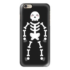 Happy Skeleton - iPhone 6s Case,iPhone 6 Case,iPhone 6s Plus... ($40) ❤ liked on Polyvore featuring accessories, tech accessories, filler, iphone case, clear iphone cases, slim iphone case, apple iphone cases, iphone cases and iphone cover case