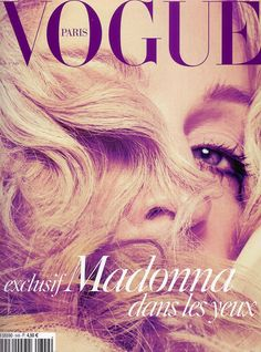Madonna for VOGUE Paris