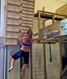 how to build a salmon ladder ninja warrior