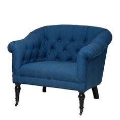 Blue Lounge Chair | Eichholtz Bentley