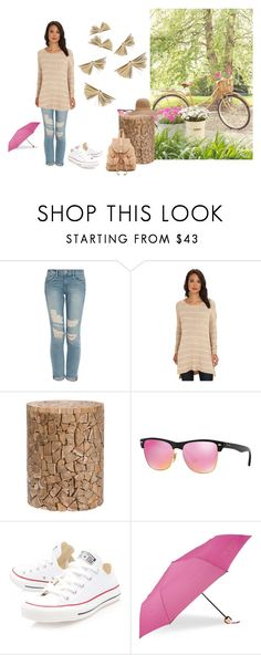 """""""#5"""" by ernahs ❤ liked on Polyvore featuring Frame, Free People, Dot & Bo, Ray-Ban, Converse, Joelle Hawkens by Treesje, Ted Baker and rag & bone"""