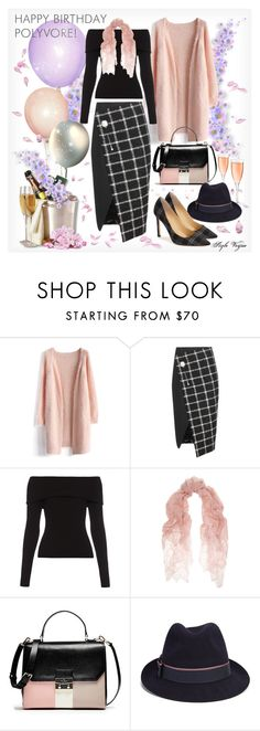 """""""Happy Birthday Polyvore !"""" by lamipaz ❤ liked on Polyvore featuring Chicwish, Balenciaga, A.L.C., Valentino, Christys', Ivanka Trump, women's clothing, women, female and woman"""