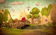 Low Poly on Behance