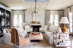 House Tour:Suzanne Kasler - Design Chic Get the Look at Mayer Lighting Showroom www.mayerlighting.com