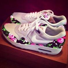Love floral print Nikes.