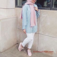 Hijab Fashion Summer, Street Hijab Fashion, Arab Fashion, Muslim Fashion, Fashion Outfits, Hijab Casual, Hijab Style, Hijab Chic, Hijab Fashion Casual