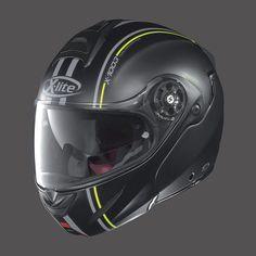 Casco Moto X-LITE X1003 FLAT BLACK YELLOW MILLSTATT