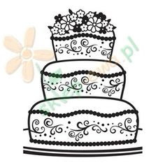 Folder do embossingu Darice FANCY CAKE