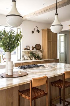 Home Interior Colors .Home Interior Colors Interior Simple, Home Interior, Kitchen Interior, New Kitchen, Kitchen Dining, Kitchen Decor, Warm Kitchen, Interior Colors, Swedish Interior Design