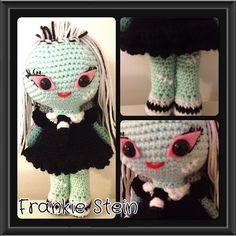 Darcys Dolls, Frankie stein doll, from monster high.