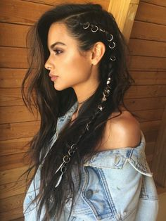 Hairstyles that men find irresistible – love hair – Hair Style Braided Hairstyles, Cool Hairstyles, Pirate Hairstyles, Bohemian Hairstyles, Summer Hairstyles, Evening Hairstyles, Layered Hairstyles, Rocker Hairstyles, Brunette Hairstyles